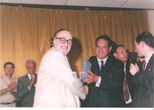 Juan Ignacio de Ibarra emocionó con sus palabras a todos los asistentes