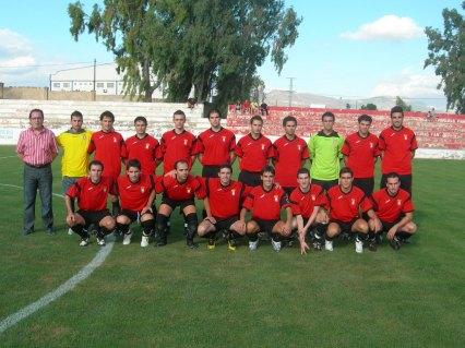 Plantilla Abarán Futbol Base 2008/09