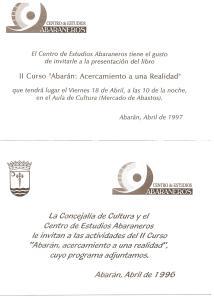 Invitación del Ayuntamiento