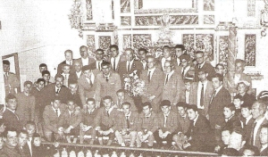 Ofrenda a los Santos Médicos (Año 1963)