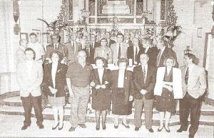 Ofrenda a los Santos Médicos (Año 1996)